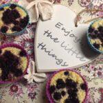 Peříčkové muffinky s borůvkami