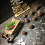 Nepečené ořechové koule (lowcarb)